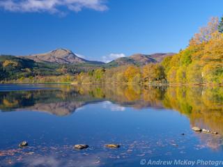 Ben Lomond reflections, Loch Ard