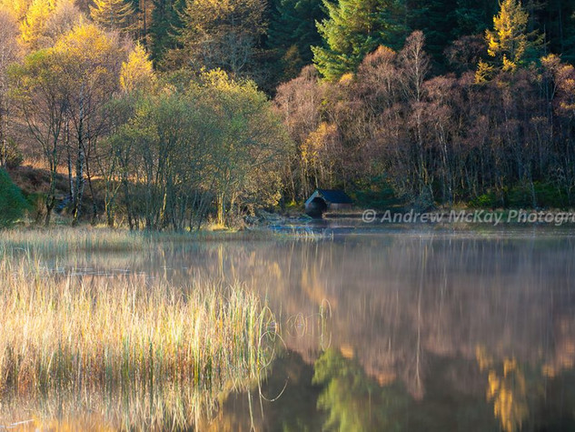 Autumn Light, Loch Chon