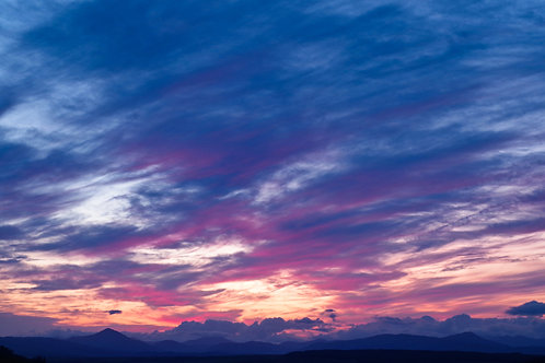 Fine art print - Pastel clouds, Fintry