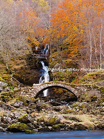 Waterfall in Perthshire