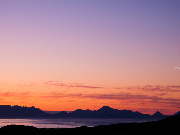 Isle of Skye Silhouette