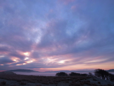 A Dawn Lesson in the Carron Valley