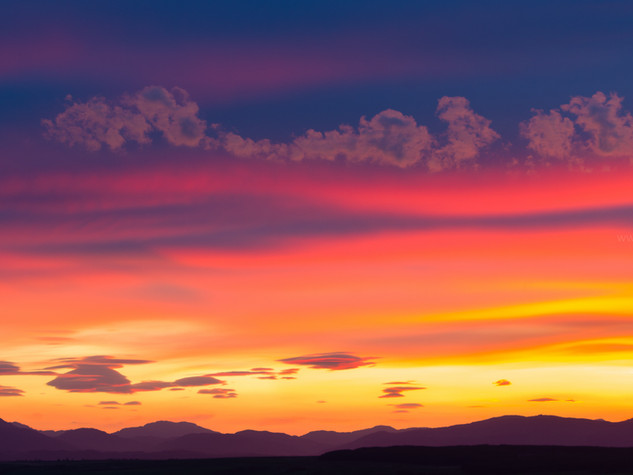 Summer Sunset, Fintry