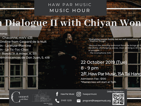《In Dialogue II with Chiyan Wong》