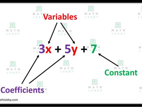 Basic Algebra and Manipulation