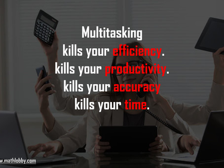 Why you should stop multitasking?