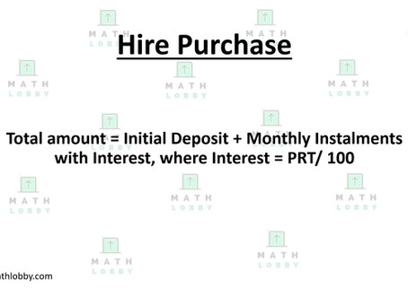 Hire Purchase