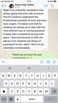 Tuition Testimonial- Aaron Ong Tuition.j