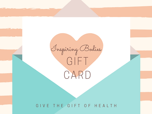 Inspiring Bodies Gift Card