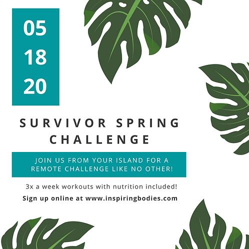 SURVIVOR Spring Challenge