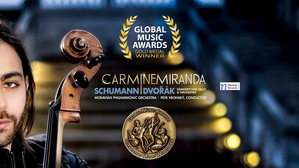 2016 GLOBAL MUSIC AWARDS GOLD MEDAL WINNER