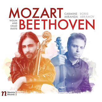 MOZART | BEETHOVEN: VIOLIN & CELLO DUETS