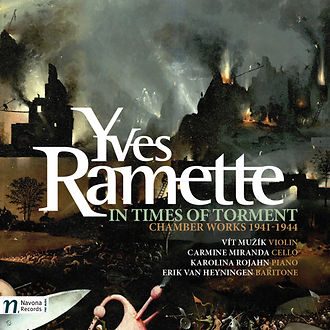 Yves Ramette in Times of Torment CD Cover