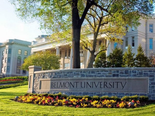 BELMONT UNIVERSITY WELCOMES CARMINE MIRANDA