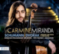 Carmine Miranda Schumann | Dvorák: Concerti for Cello & Orchestra CD Cover