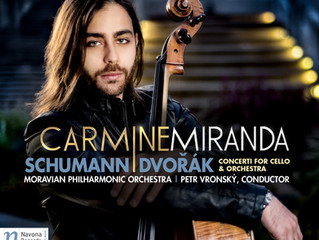 NOW AVAILABLE: SCHUMANN | DVOŘÁK: CONCERTI FOR CELLO & ORCHESTRA