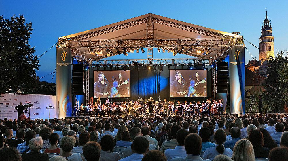 INTERNATIONAL CESKY KRUMLOV MUSIC FESTIVAL PERFORMANCE