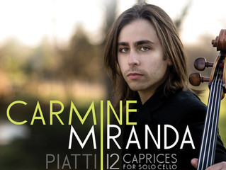 NAVONA RECORDS RELEASES ALFREDO PIATTI 12 CAPRICES FOR SOLO CELLO