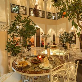 Riad Nasreen interior view