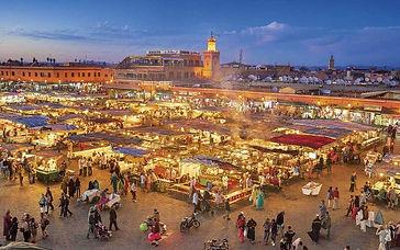 Marrakech at night
