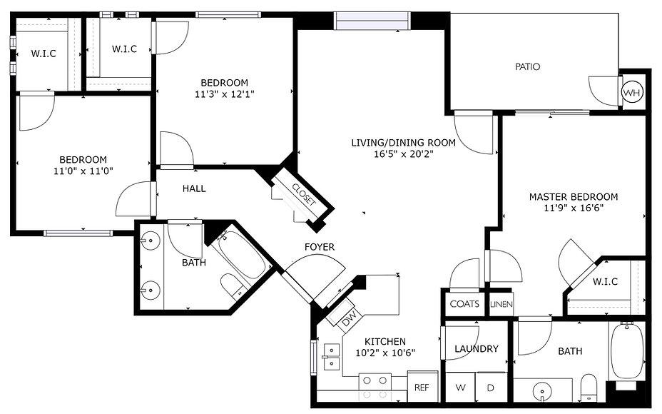 Jade Stone Apartment - Canyonstone - Artesia, NM
