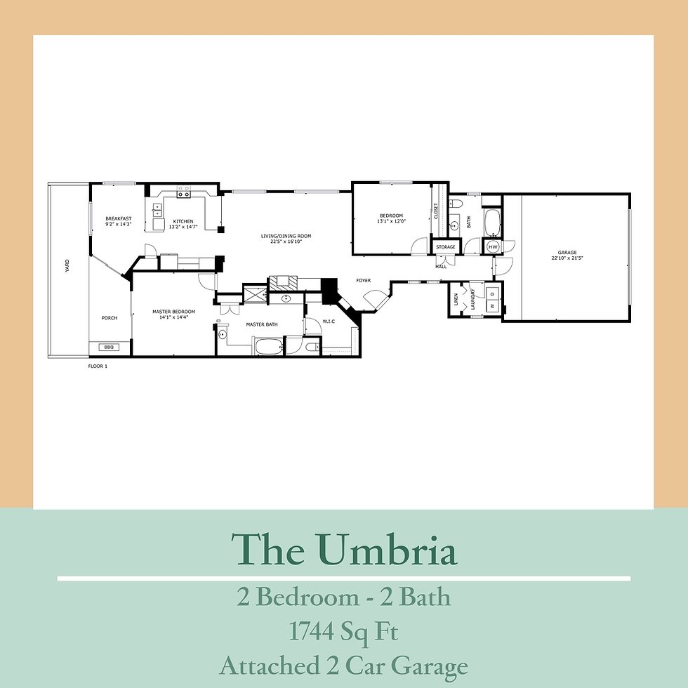 Umbria - revised floor plan provided by