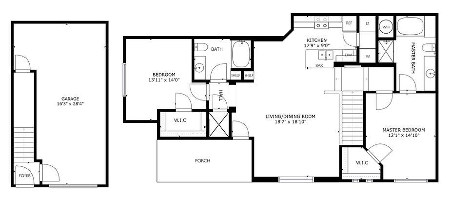 Hedge Stone Apartment - Canyonstone - Artesia, NM