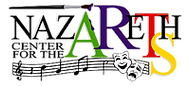 Nazareth Center or The Arts Logo