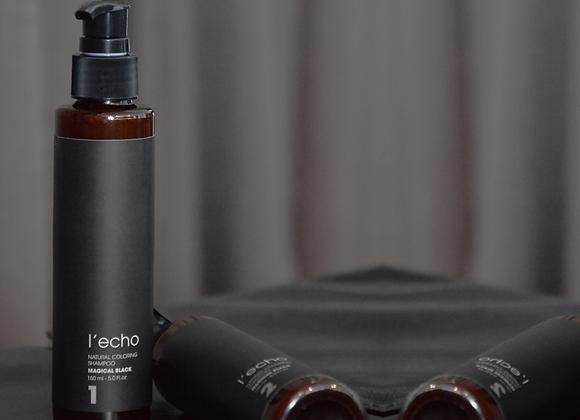 Natural Coloring Shampoo | Magical Black