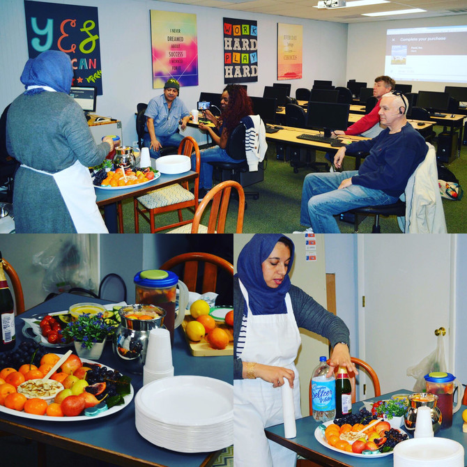 March Cooking Class