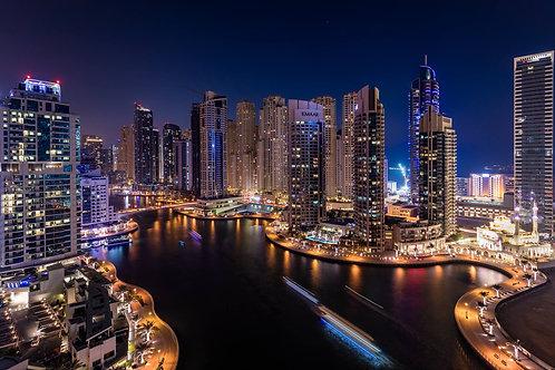 Night in Marina