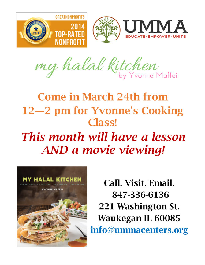 March Cooking Class!