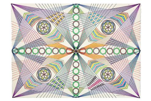 Monir Artwork Documented for Third Line Gallery