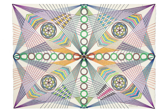 Monir Artwork Documented for Third Line Gallery