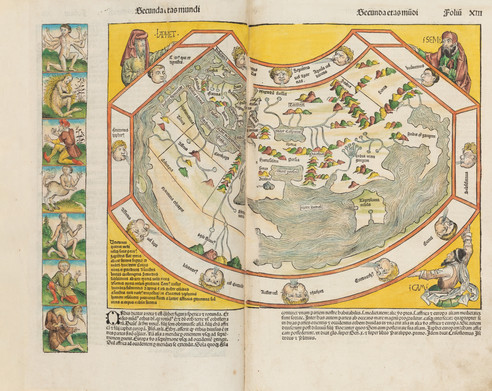Documentation of the Atlas dated 1493 for Dubai Library
