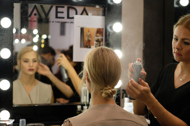 Bloomingdales Fashion Show Behind The Scenes