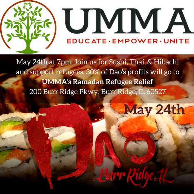 DAO Restaurant Refugee Fundraiser