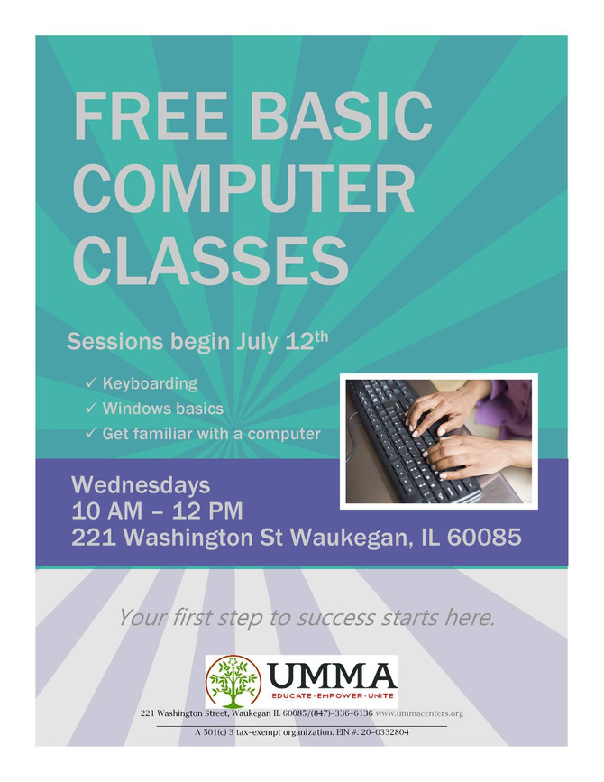 New computer class starting this week!!!