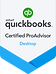 QuickBooks Certified ProAdvisor Desktop Certification - Victoria Rizzuto