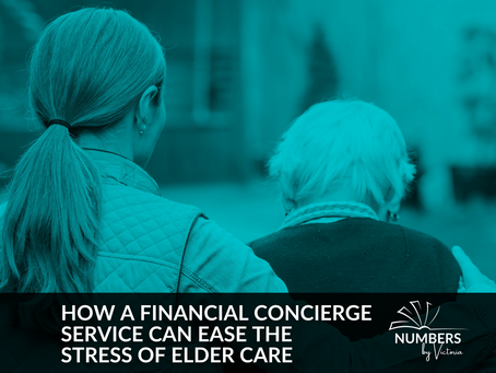 How a Financial Concierge Service Can Ease the Stress of Elder Care