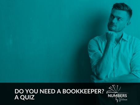 Do You Need a Bookkeeper? A Quiz