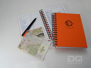 """Блокнот для записей """"Дневник путешественника"""". Проект дизайн-бюро DIGITAL ART"""