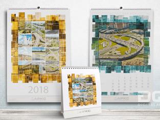 """Корпоративный календарь """"Строительство как искусство"""""""