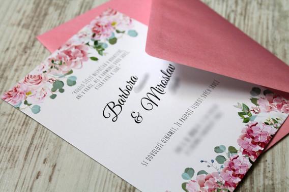 Svatební oznámení #34