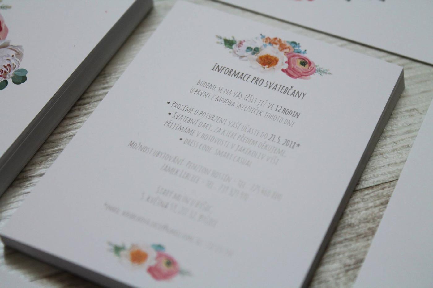 Svatební oznámení #21
