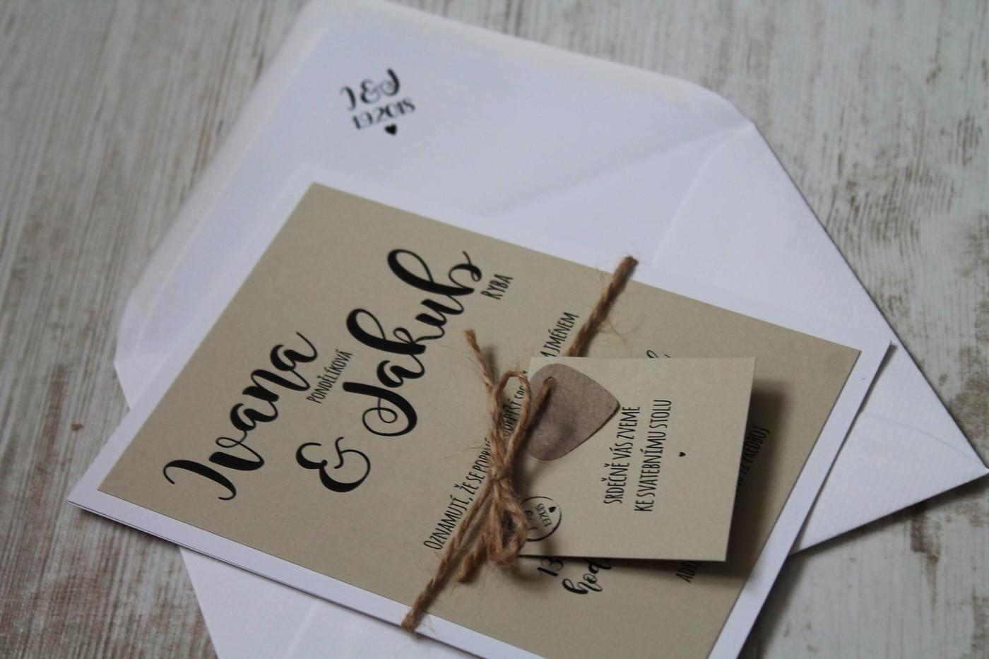 Svatební oznámení #31