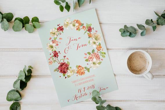 Svatební oznámení #19