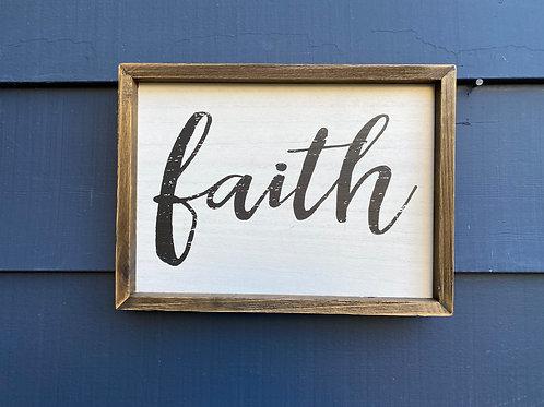 """10"""" by 12"""" - Faith"""