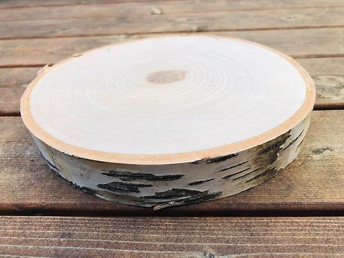 """5"""" Natural Birch Wood Round"""