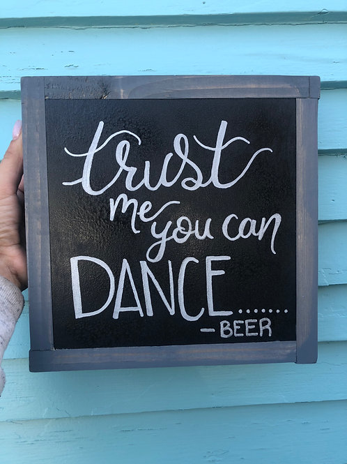 "10"" x 10"" You Can Dance"